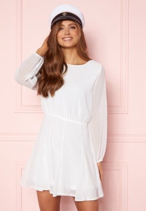 AX Paris Flippy Skater Dress White M (UK12)