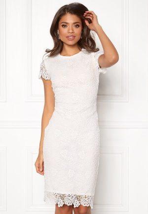 BUBBLEROOM Flora lace dress White 34
