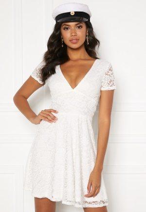 BUBBLEROOM Lexi lace dress White 42