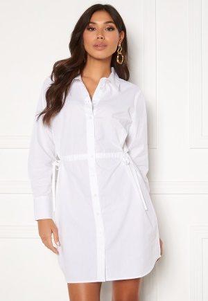 BUBBLEROOM Lorina shirt dress White 34