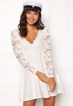 BUBBLEROOM Shelby dress White L