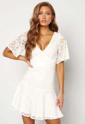 BUBBLEROOM Starla Lace Dress White 36