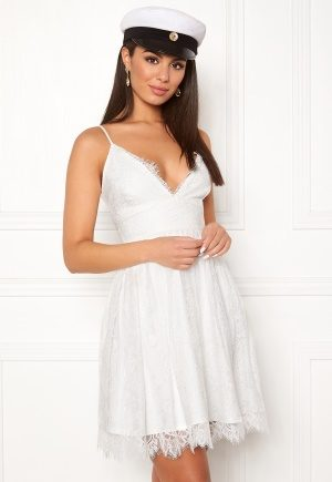 Chiara Forthi Blossom lace dress White 40