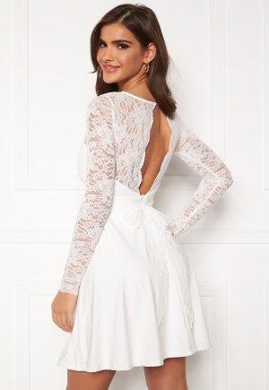 Chiara Forthi Riccia Dress White 34