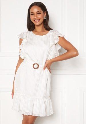 DRY LAKE Kharma Dress 142 White Stripe Jac L