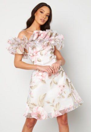 Ida Sjöstedt Arielle Dress White/Pink 34
