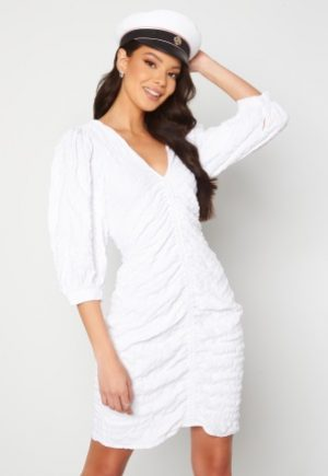 OBJECT Gerda 3/4 Dress Bright White 34