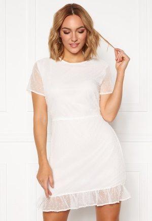 Rut & Circle Lovisa Dress White L